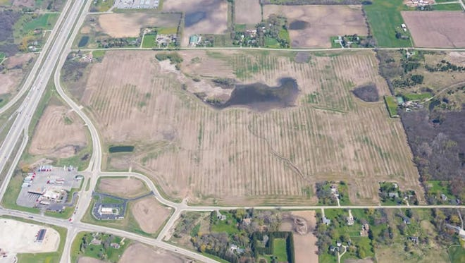 DeBack Farms Business Park, in Caledonia, might land a 1 million-square-foot distribution center.