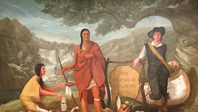 The iconic mural that had been in Sears in Watchung for a half-century has been saved, but it has yet to find a new home.