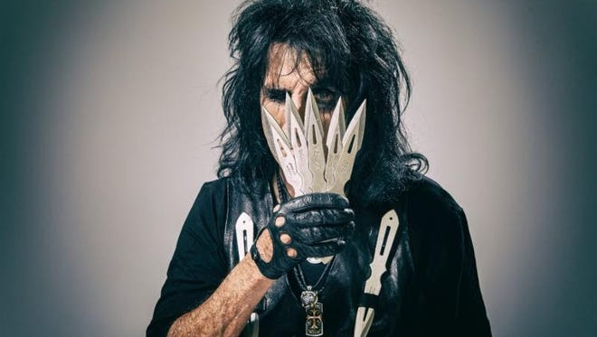 Alice Cooper plays Riverbend Music Center Sunday.