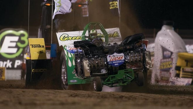 The Lucas Oil Pro Pulling Nationals return to Lucas Oil Speedway for a two-night show, this Friday and Saturday.