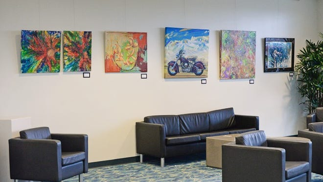 The airport's Sky Gallery is a traveler's first glimpse of what Springfield is, says gallery manager Kara Remington.