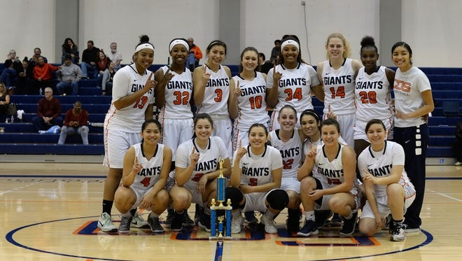 The College of the Sequoias women's basketball team defeated Mt. San Antonio College Sunday to capture the 41st annual Tom Gilcrest Invitational championship.