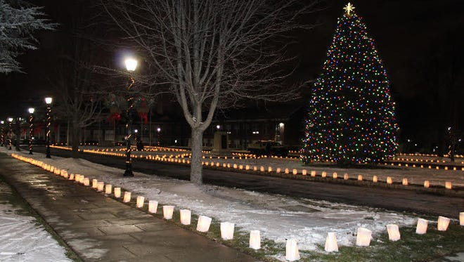 Verona was aglow with luminaries for Share Your Light Night, a fundraiser that supports social and charitable work in Verona.