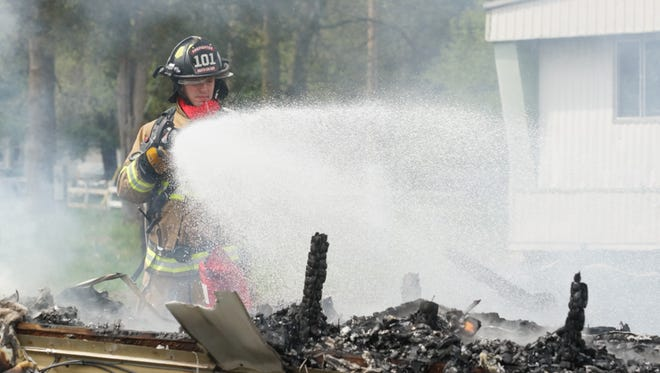 Clarksville Fire Rescue took part in a multi-agency response to a fire on State Line Road Thursday morning.