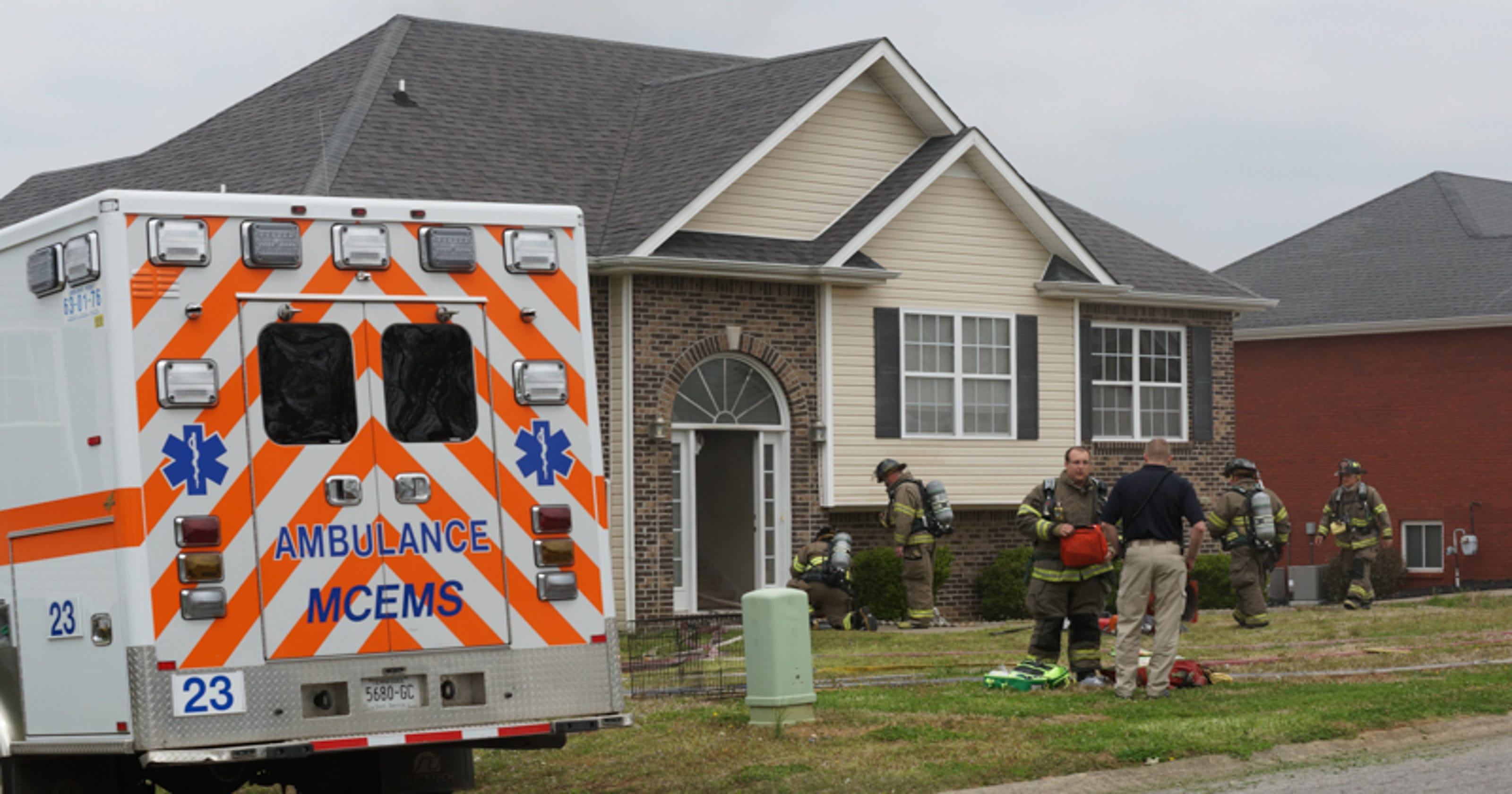 Fire damages family home off Cumberland Drive in Clarksville