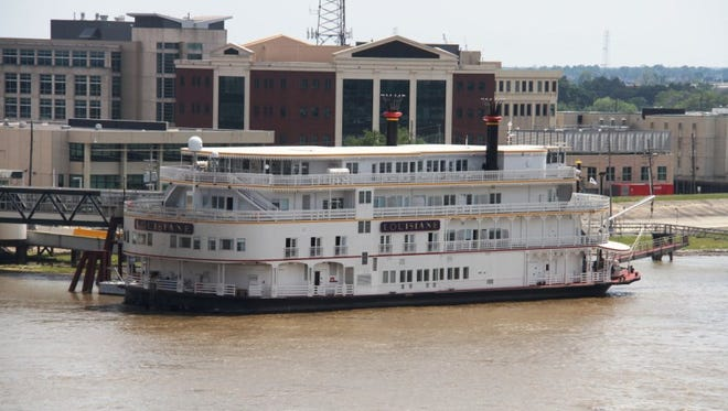A photo taken April 13, 2017, of the docked New Orleans-based riverboat, Lousiane, by a ship spotter. Passengers, including two Arizona couples, say their trips were canceled last minute and the company didn't refund them. French America Line and Uncommon Journeys said the trips were canceled because of events beyond their control.
