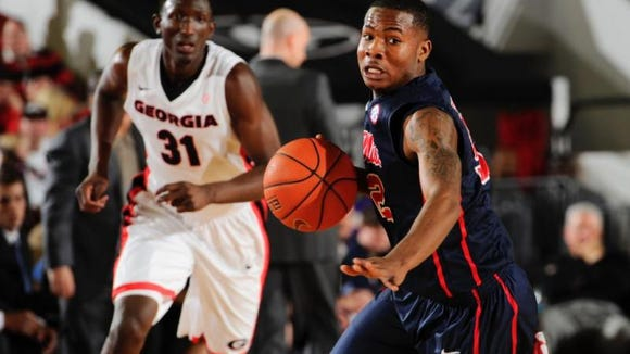 Ole Miss guard Jarvis Summers is a preseason All-SEC pick