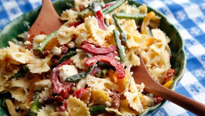 Cheddar Box's Derby pasta salad.