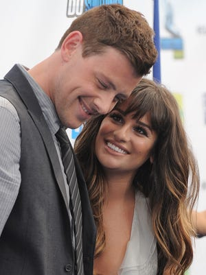 Fans tweeted support when Lea Michele lost her boyfriend and co-star Cory Monteith.