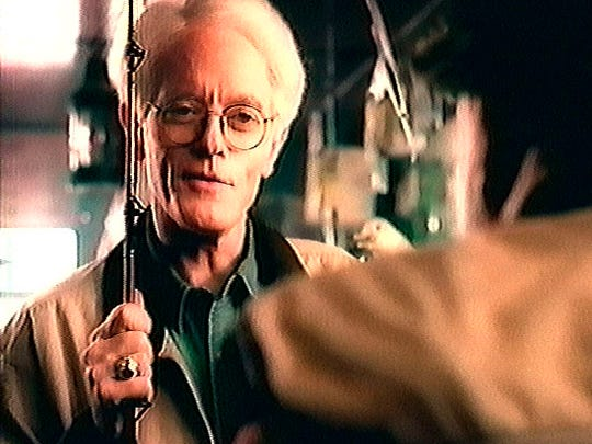 Peter Lynch in an ad for Fidelity Investments in the late 1990s.