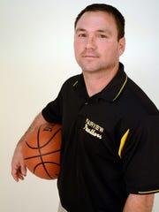 Fairview girls basketball coach Kyle Jinks