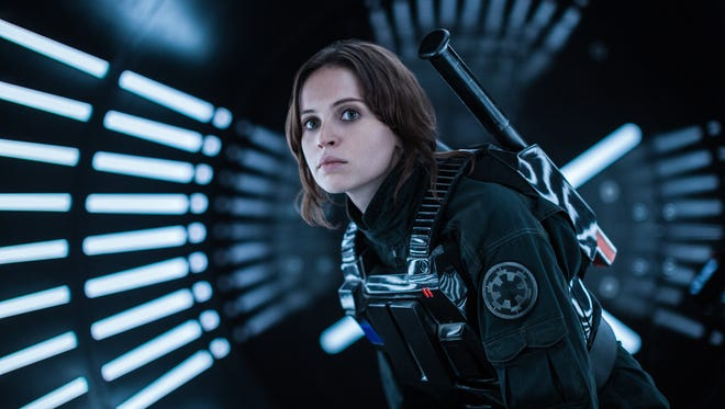 Felicity Jones stars as Jyn Erso, a Rebel with a cause, in 'Rogue One: A Star Wars Story.'