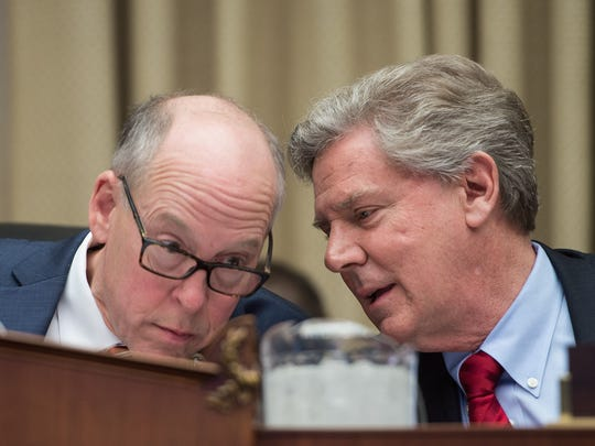 Reps. Greg Walden, R-Ore., and Frank Pallone, D-N.J.,