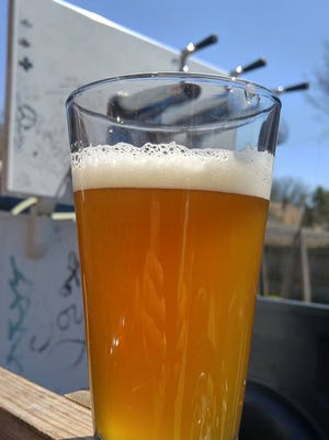 A beer from Black Bottom Brewing Club is shown in this photo shared ahead of National Homebrew Day events on May 6, 2017.