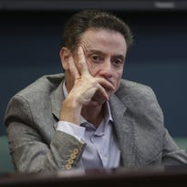 Louisville basketball | Rick Pitino urges boosters to keep 'spirits high' after NCAA ruling