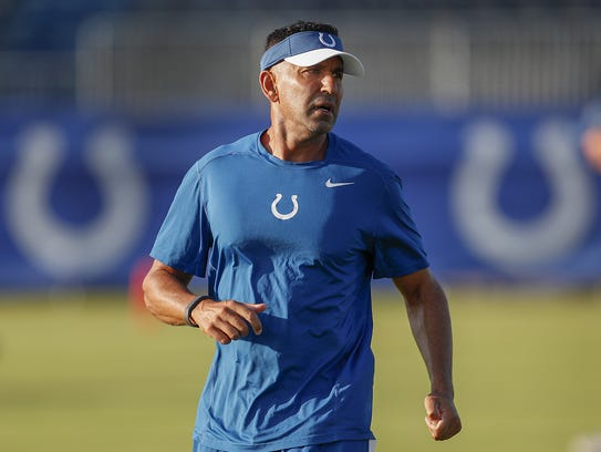 Colts receivers coach Sanjay Lal fell in love with
