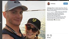 Nicholas and Emma Rezny are shown in an Instagram post
