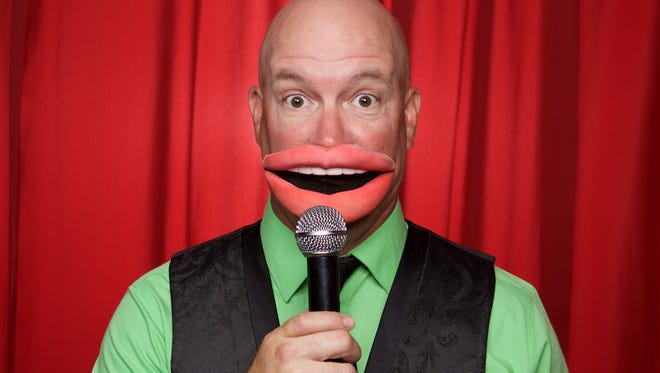 Comedian Todd Bogue graduated from Titusville High in 1989. He's been a comedy magician since 2007.