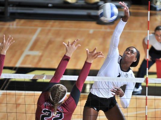 Women's volleyball: Jale Hervey