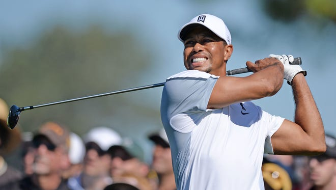 Tiger Woods has still not announced whether he will try to play in next week's Masters.