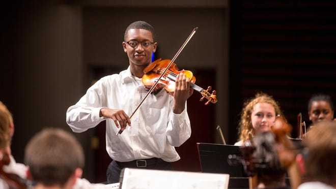 The University of Kansas School of Music offered a virtual summer music camp this year that attracted participants from 46 states, the U.S. territory of Puerto Rico, Hungary, Mexico, Switzerland, Canada and Ukraine, according to Paul Popiel, a professor of music and director of bands at KU.