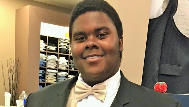 """A successful online fundraising campaign will benefit DeSean Martin of North Liberty, who is overcoming difficult family obstacles to graduate from City High on May 21.  His longtime teacher, friend and advisor Diana Speer has started a trust fund to help him with his dream to attend Kirkwood Community College.  This young man's heart-rending story can be found on GoFundMe.com by searching """"DeSean's Big Hug."""""""