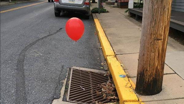 Lititz Borough Police posted this photo on a playful Facebook post Tuesday, Sept. 5.