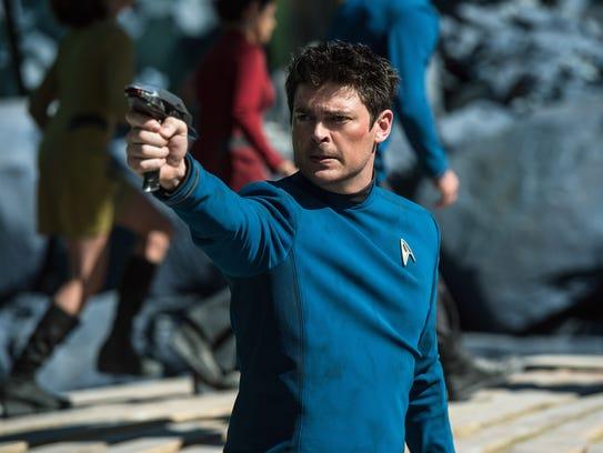 """Karl Urban plays Bones in """"Star Trek Beyond."""""""