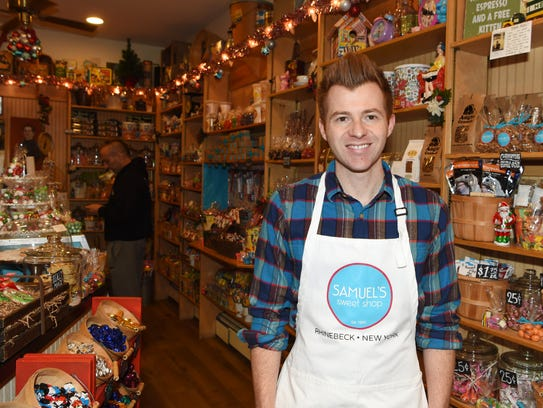 John Traver, manager and partner at Samuel's Sweet