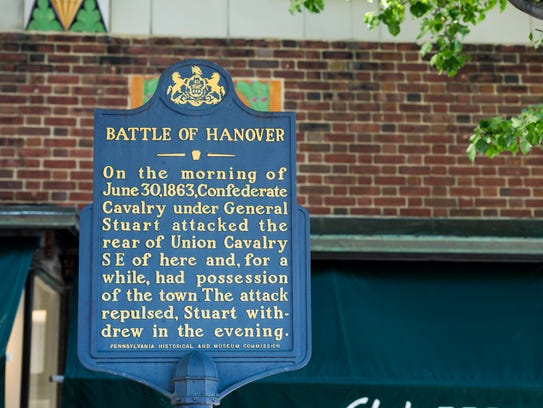 Thirty-three historical wayside markers scattered throughout