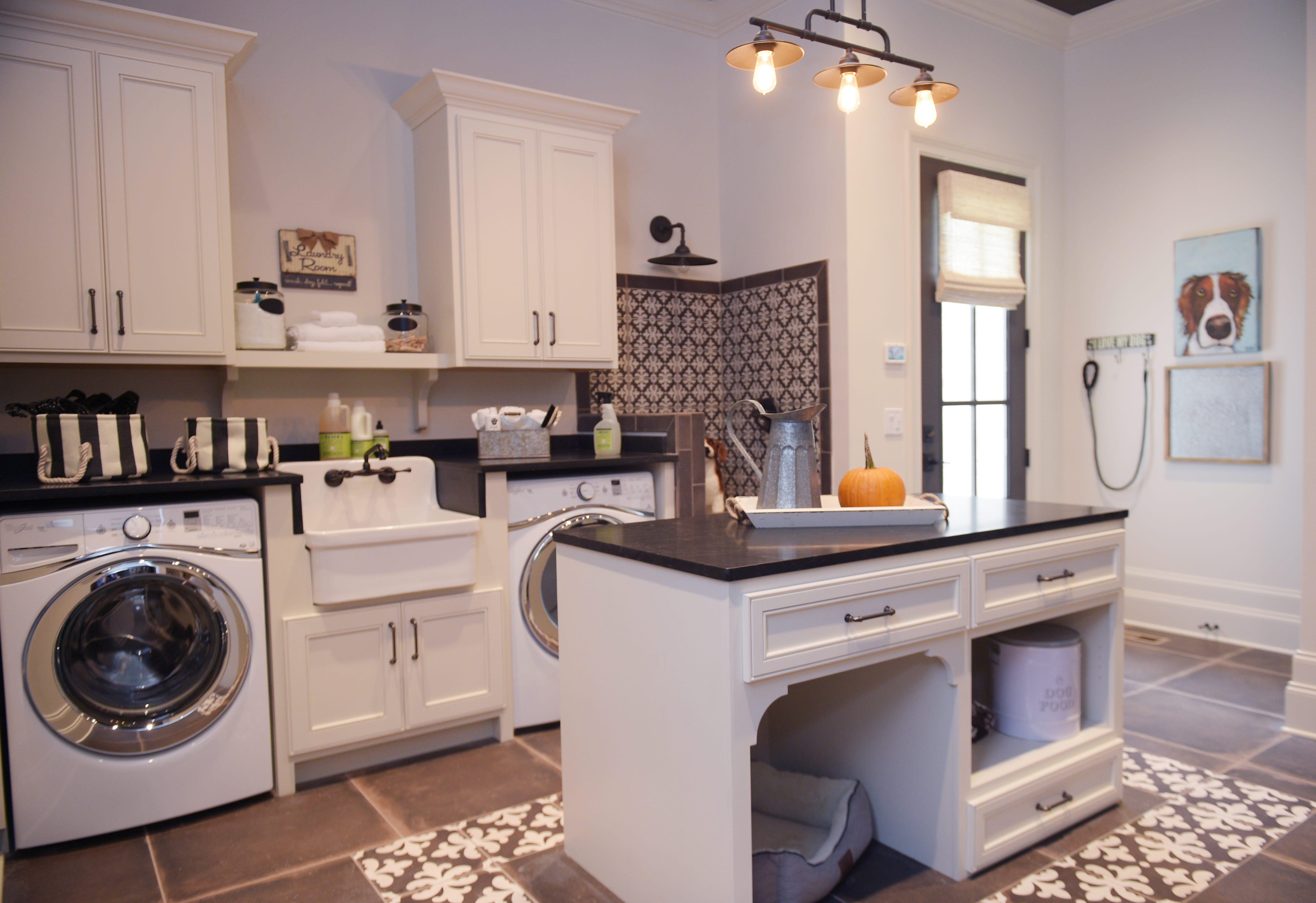 Heritage Homes Model Features A Large Laundry Room, Interior Design  Nashville, TN, Design
