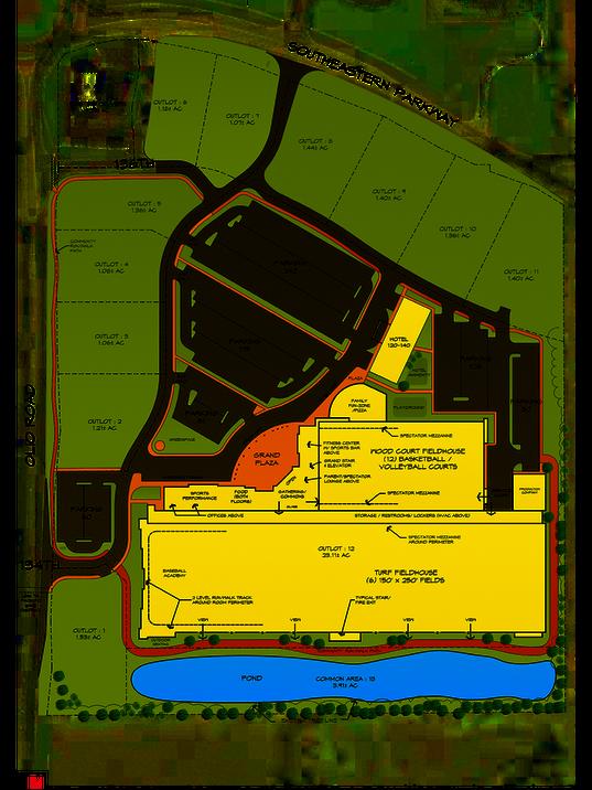 Fishers sports complex