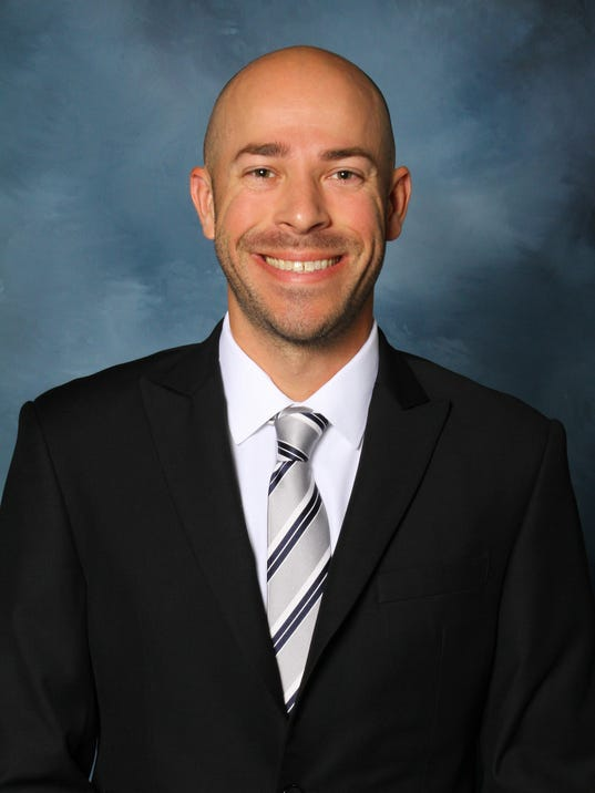 University of Dubuque shows assistant women's basketball coach Justin Smith