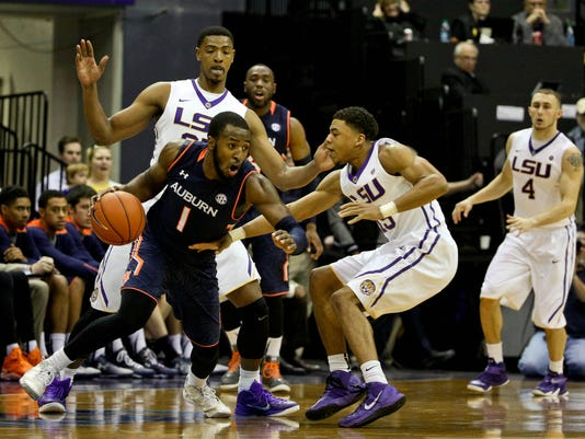 NCAA Basketball: Auburn at Louisiana State