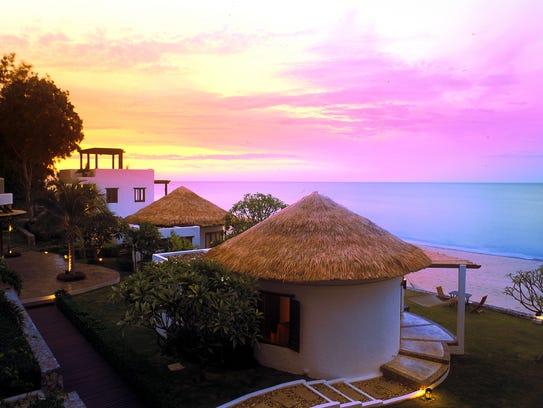 The Aleenta Hua Hin is a luxury beachfront resort.