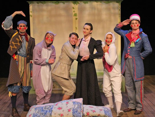 The Corland Reperatory Theatre Performing Intern Company