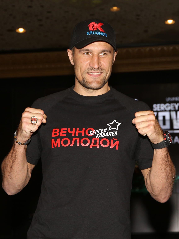 Sergey Kovalev marcha con marca invicta de 30-0-1,