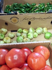 As the fall season rolls in, expect to see more summer crops such as tomatoes and peppers from Cecil Farms, as well as fall crops such as spaghetti squash, broccoli and kale.