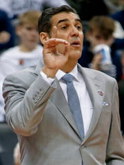 Villanova coach Jay Wright talked about missing Rollie
