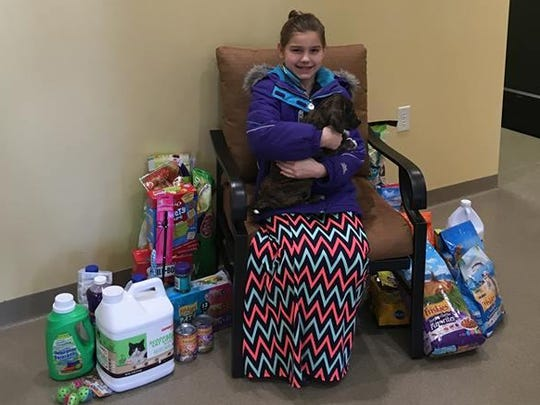 The Lincoln County Humane Society would like to thank Madyson Graap for her generous donation to the shelter! Madyson recently celebrated her 9th birthday, and asked for donations for the animals instead of presents for herself. Thank you, Madyson! Your generosity is greatly appreciated!
