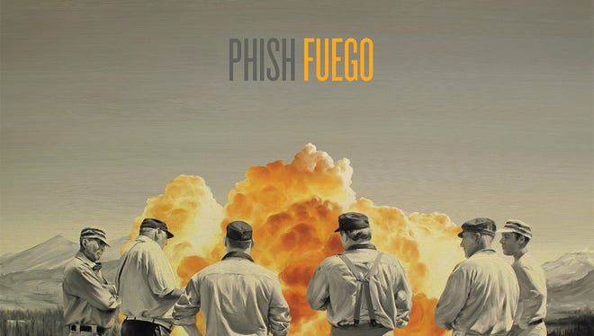 "This CD cover image released by JEMP Records shows ""Fuego"" by Phish."