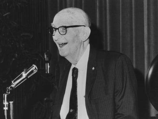 """<p class=""""MsoNormal"""" -position:="""""""" initial="""""""" initial;="""""""" background-repeat:=""""""""><b>CARL HAYDEN</b><b>:</b> The role model for every Arizona leader since, Hayden represented Arizona in Congress from statehood in 1912 until his retirement in 1968. He wasn't given to oratory; instead, his influence came from choosing his words and timing carefully. Hayden rarely engaged in partisan bickering, often helping other senators to push their bills through. That made it easy for him to win support for Arizona projects such as the Central Arizona Project, his legacy. He also played a key role in creating the federal highway system.</p>"""
