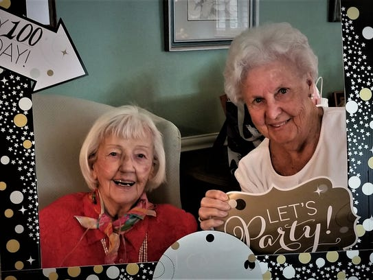 Cookie and Rita, her friend for more than 40 years,