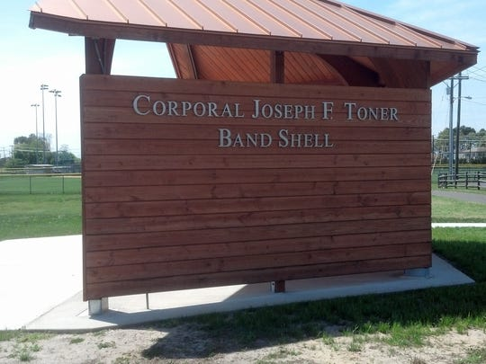 A new band shell at Lake Avenue Park wll be dedicated May 13 to Cpl. Francis Toner, an Army soldier who went missing in action during the Korean War.