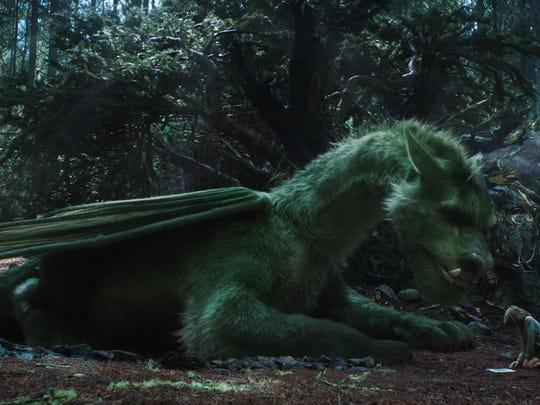 "Oakes Fegley in ""Pete's Dragon."""