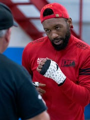 Austin Trout will look to get back in the win column on February 17 in El Paso.