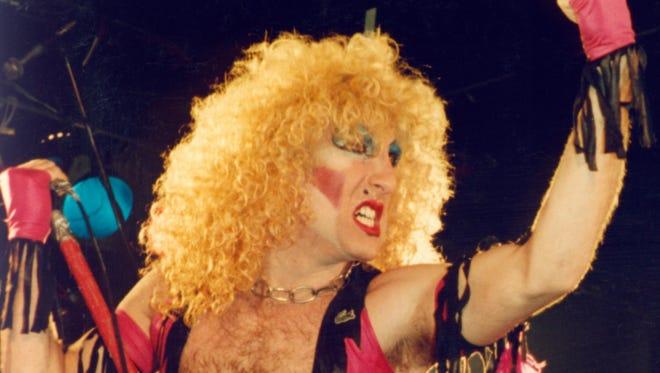 Twisted Sister lead singer Dee Snider.