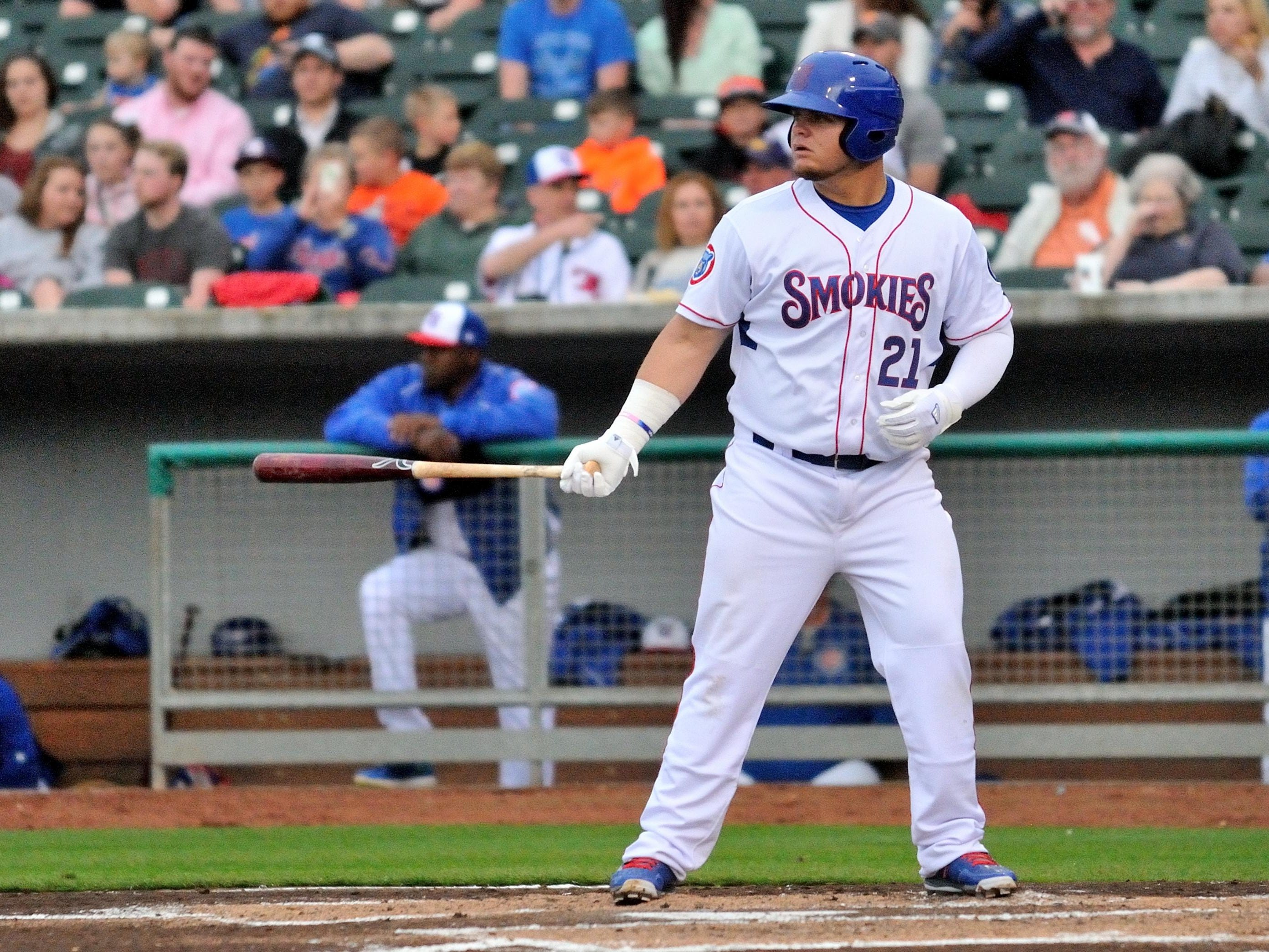 Bishop Verot product Daniel Vogelbach is one of the top hitters in the Chicago Cubs organization. He is spending this season with the Double A Tennessee Smokies.