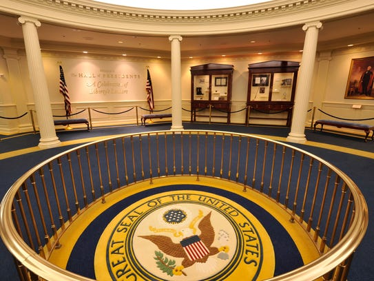 The Hall of Presidents at Magic Kingdom's Liberty Square has been closed since Jan. 17 to prepare for the addition of an animatronic President Donald Trump.