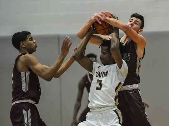 Michael Dunne of Matawan, right and Darryl Rogers,